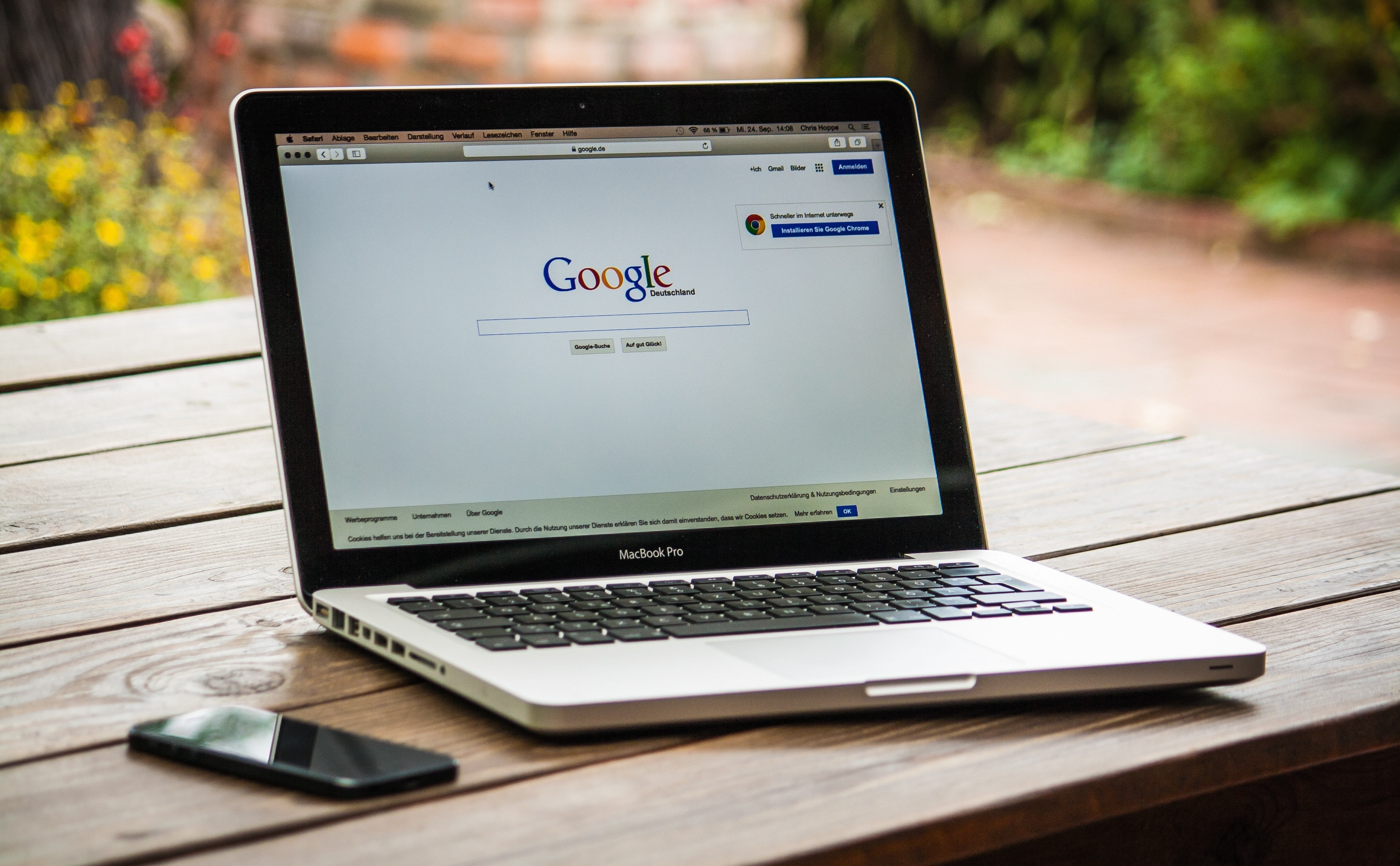 google chrome waarschuwt in browser chrome