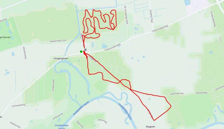 MTB route Stegeren