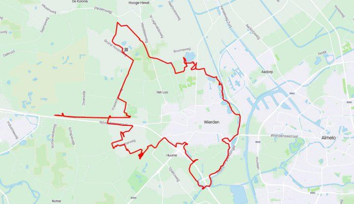 MTB route Wierden
