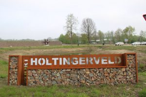Toegangspoort Holtingerveld - Start MTB route Havelte-West