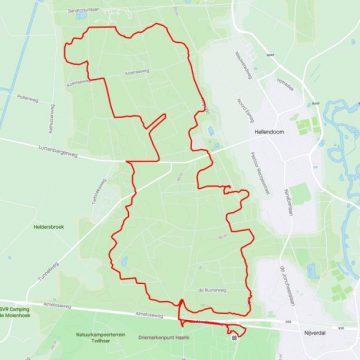 MTB route Hellendoorn