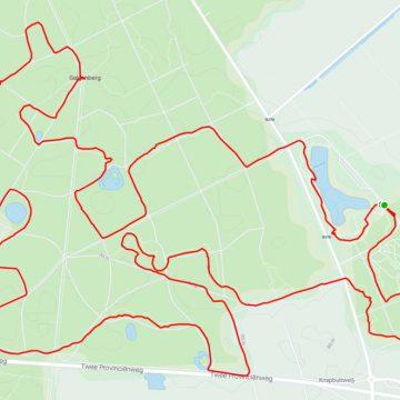 MTB route Sleen