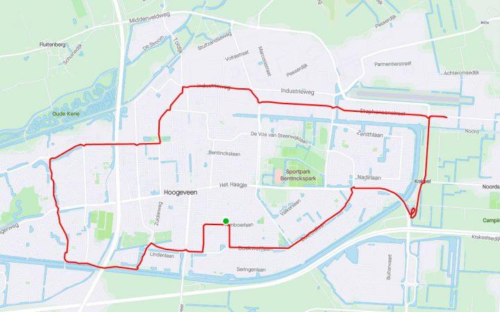 Avondritje in Hoogeveen