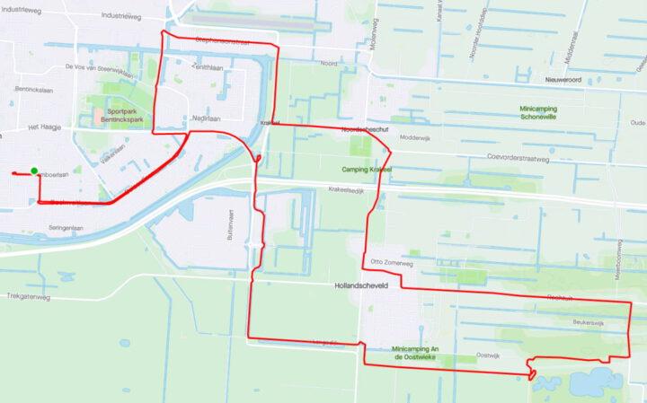 Rondje Hoogeveen – Hollandscheveld – Noordscheschut