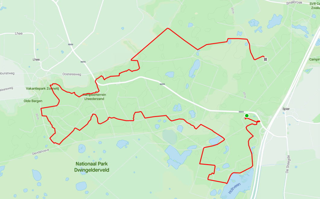 MTB route Dwingeloo