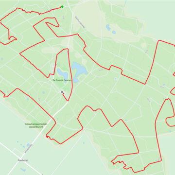 MTB Route Staphorst 17km