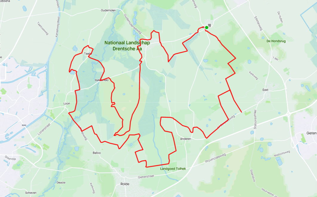 MTB route Anloo